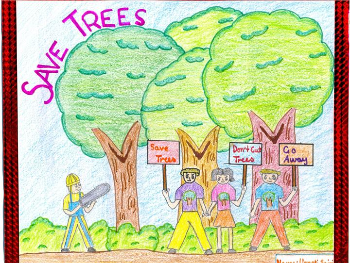save trees speech for kids Take action to help the environment this applies not only to saving the environment however kids can protect the environment _____ changing.